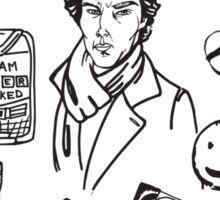 Sherlock: The Game Is On Sticker