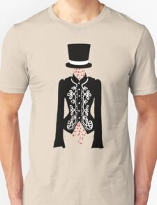 red rose ghost Unisex T-Shirt