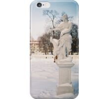winter play iPhone Case/Skin