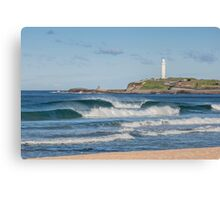 North Wollongong Beach Canvas Print