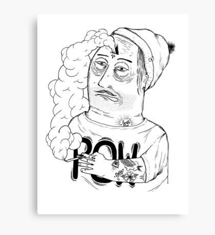 Drawing - POW -  Canvas Print