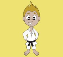Karate kid cartoon Baby Tee