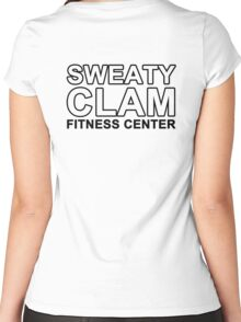 Sweaty Clam Women's Fitted Scoop T-Shirt