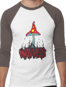MushrOom Wavves Men's Baseball ¾ T-Shirt