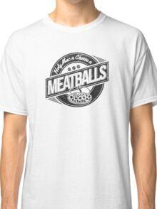 Holy Mac n Cheese n Meatballs (Black) Classic T-Shirt