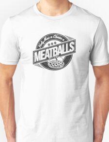 Holy Mac n Cheese n Meatballs (Black) T-Shirt