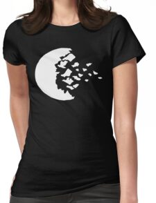 rwby fractured moon white  Womens Fitted T-Shirt