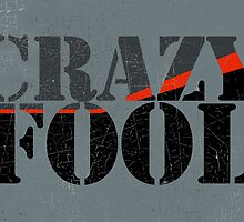Vintage Look Crazy Fool Van Graphic by VintageSpirit