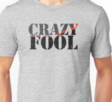 Vintage Look Crazy Fool Van Graphic Unisex T-Shirt