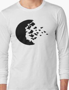 rwby fractured moon black Long Sleeve T-Shirt