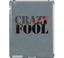Vintage Look Crazy Fool Van Graphic iPad Case/Skin