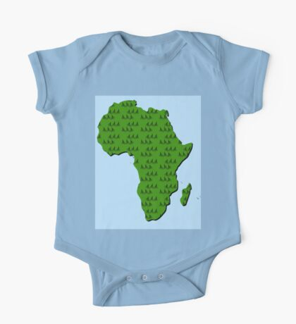 Cycling in Africa One Piece - Short Sleeve