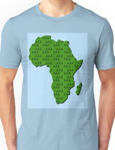 Cycling in Africa Unisex T-Shirt