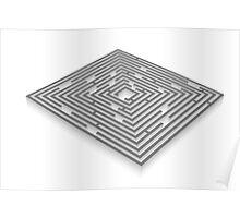 maze - labyrinth Poster