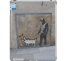 Banksy Himself?? iPad Case/Skin