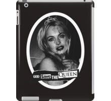 Lindsay Lohan 'God Save the Queen' iPad Case/Skin
