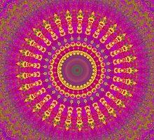 Brightest Blessings Mandala by Vicki Field