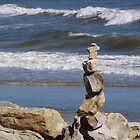 Stack of Rocks by Robert Brown