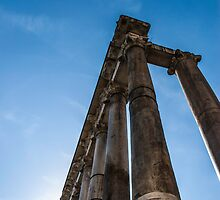 Rome, the Forum by AMazzocchetti