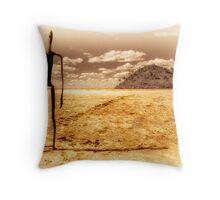 Destination Dessication Throw Pillow