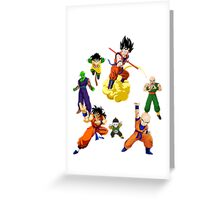 the z fighters Greeting Card