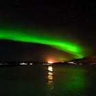 Green Lights of Norway by KarenMcDonald