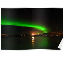 Green Lights of Norway Poster