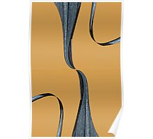 Almost Touching Abstract Poster