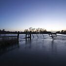 Flooded Fields by Nigel Bangert