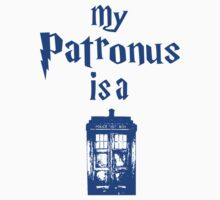 my patronus is a tardis by bestbrothers