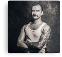 Mustache III Metal Print