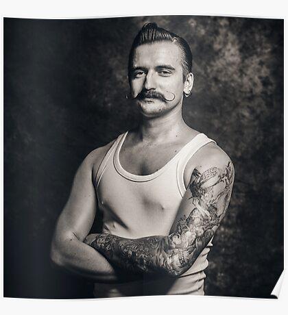 Mustache III Poster