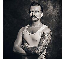 Mustache III Photographic Print