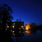 Parndon Mill at Night by Nigel Bangert