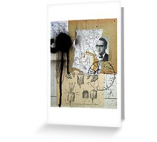 FIGURA CIEGA No.176 (Blind Figure No.176) Greeting Card