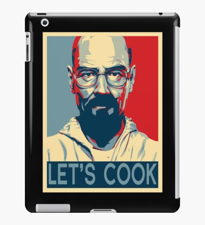 Walter White / Heisenberg - Let's Cook iPad Case/Skin