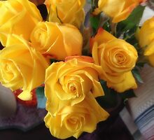 Yellow Roses by James Brotherton