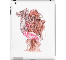 Strange african seller of birds iPad Case/Skin