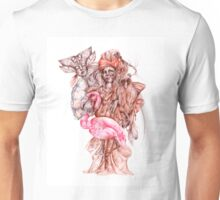 Strange african seller of birds Unisex T-Shirt