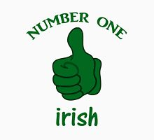 Number One Irish T-Shirts & Hoodies Womens Fitted T-Shirt