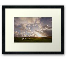 Snæfellsnes Pensinsula Sunset I Framed Print