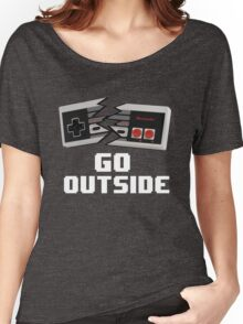 Go Outside (NES) Women's Relaxed Fit T-Shirt