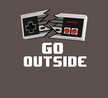 Go Outside (NES) Unisex T-Shirt