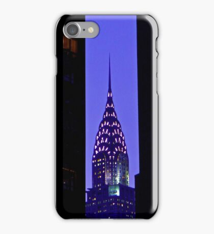Blue Chrysler iPhone Case/Skin