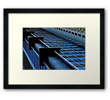 Cutting Corners Framed Print