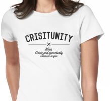 Crisitunity! - Crisis & Opportunity Womens Fitted T-Shirt