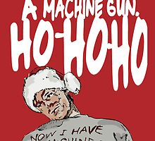 Die Hard alternative Christmas card by Socialfabrik