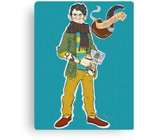 Hipsterlock: Sherlock Holmes  Canvas Print