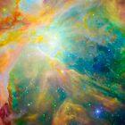 Orion Nebula by Ram Vasudev