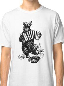 Misha the accordion player Classic T-Shirt